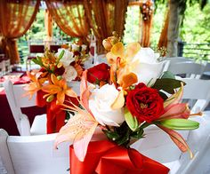 More pretty colors...so many choices : ) #Flowers #Weddings