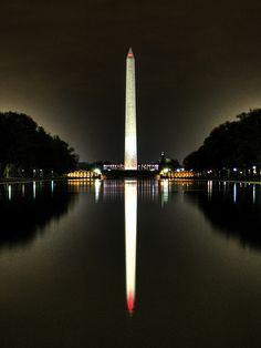 Washington Monument (reflected), Washington, DC.