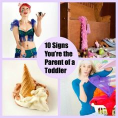 10 Signs You're the Parent of a Toddler