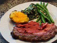Mustard-Crusted Roast Prime Rib of Beef Ingredients: -Kosher or sea ...