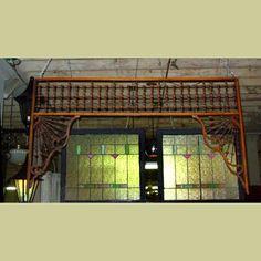 ANTIQUE OAK BALL & STICK VICTORIAN ERA FRETWORK : Architectural Artifacts - Toledo, OH