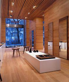 wood retail space