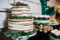 Naked Holiday Cake b