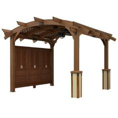 idea, outdoor greatroom, pergolas, wood pergola, hous, backyard, arch wood, sonoma, garden