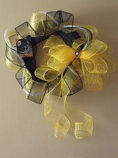 Steelers wreath #steelers