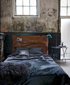 21 Industrial Bedroom Designs » Decoholic