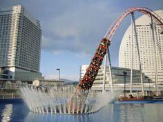 Funfair Rollercoaster - Minato Mirai, Yokohama, Japan