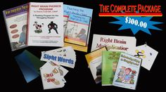 """Diane Craft """"Brain Integration"""" package.  VERY cool stuff for struggling learners/dysgraphia/dyslexia/sensory kids"""