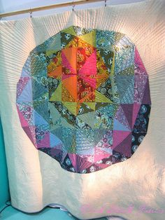 Quilt Market Spring 2012 by pink chalk studio, via Flickr. That's really cool!