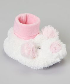 Love this Pink Pig Slipper by Tender Toes on #zulily! #zulilyfinds