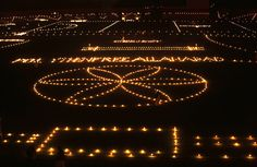 Diwali: The Festival of Lights - Candles and lamps are lit across a field ahead of Diwali, in Allahabad, India, on November 12, 2012. (AP Photo/Rajesh Kumar Singh) #Diwali #India