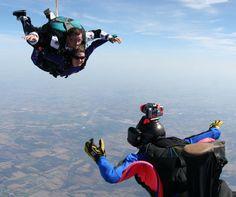 Free Fall at Skydive Milwaukee