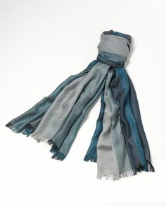 Wide stripes scarf  www.coldwatercreek.com