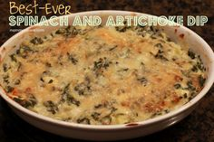 Best-Ever Spinach and Artichoke Dip