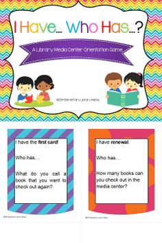 This is a fun FREE library media center orientation activity to use with students to review library terms, rules and procedures. It works best with students in 3rd through 5th grade. I use it during the first week of media classes with my students and the students are really engaged!