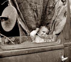 baby on board: 1939 | foto: dorothea lange