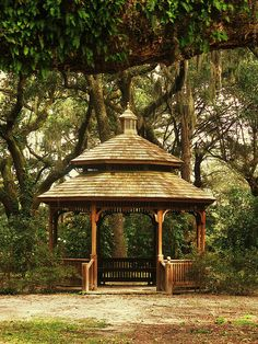 Gazebos are great