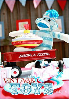Vintage Toys Baby Shower