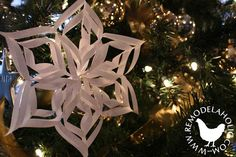 3-d snowflake ornament