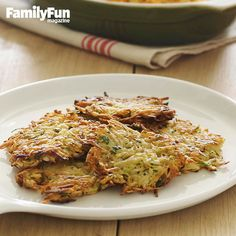 Parsnip and Potato Pancakes: We've revamped the classic potato pancake by adding shredded parsnips to the mix. The result is a dish that's a bit sweeter, but with the same homey, hash-brown flavor you'd expect from a potato-only version.