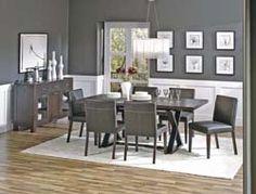Surprising Gray Dining Room Walls Contemporary - Best idea home ...
