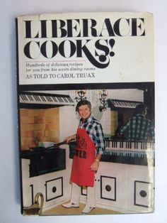 Liberace Cooks is a surprisingly expensive book to buy.