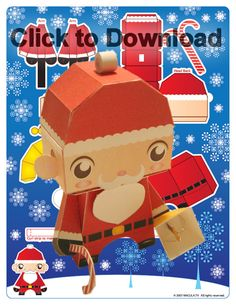 Download Christmas Paper Craft