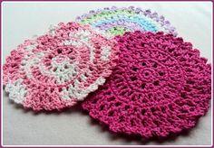Sun Catcher Dish Cloth pattern on Craftsy.com