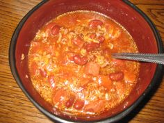 My Favorite Chili Recipe: Kielbasa Chili