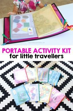 Portable Activity Kit for Little Travellers - Mama. Papa. Bubba.