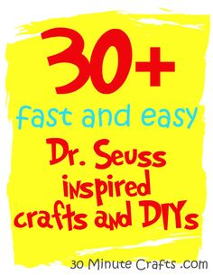 30+ Fast and Easy Seuss Tutorials