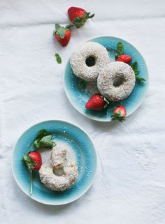 Coconut Vanilla Donuts