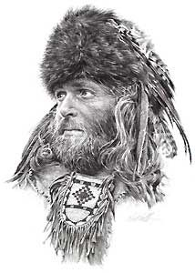 "Paul Calle ""The Fur Trapper"""