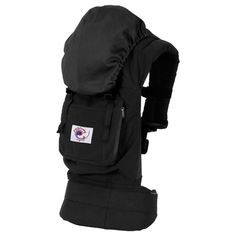 Ergobaby | Organic Baby Carrier - Black