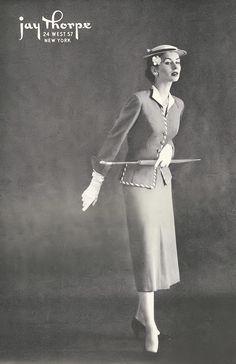 IRENE LENTZ | Irene Lentz Design, Town & Country March, 1953 p.10 | Irene Lentz