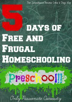 Cheap and Free Preschool and Kindergarten