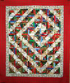 T-Christmas Spiral by Linda Rotz Miller Quilts & Quilt Tops, via Flickr