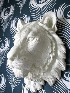 Tiger Faux Taxidermy #3dPrintedAnimals
