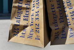 gato takeaway bags | michael bierut