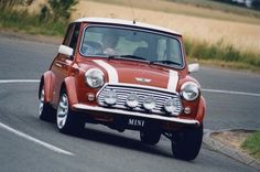 Mini Cooper.  Looking absolutely wonderful.