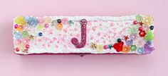 Make a Pretty Decoden Pencil Box for Back to School using Plaid Collage Clay