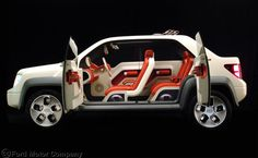 process model, models, ford model, tough ride, ride green, car interiors, ford concept, ford california, concept cars
