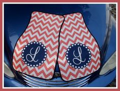 Personalized Car Mats Monogrammed Car Mats Custom by ChicMonogram, $75.00