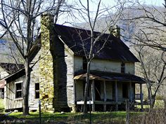 Old Abandoned Farmhouse on Allison Watts Road: Macon County, North Carolina by Traveled Roads, via Flickr