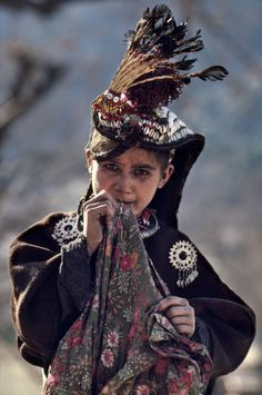Pakistan | Kalash girl. 1981 | ©Steve McCurry
