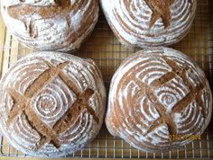 Pain de Campagne, with whole wheat and spelt.