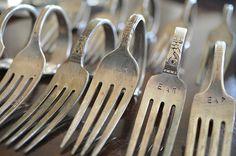 #Vintage Fork Napkin #Rings wundervolle DIY-Seite