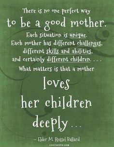 A Good Mother Pictures, Photos, and Images for Facebook, Tumblr, Pinterest, and Twitter