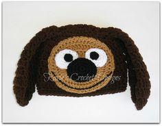 ROWLF THE DOG Muppet Handmade Crochet Hat Beanie. $19.99, via Etsy.