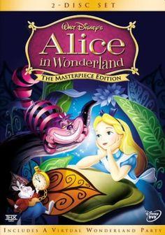 Alice in Wonderland Cartoon Falling | in disney s 1951 version of alice in wonderland alice finds herself ...